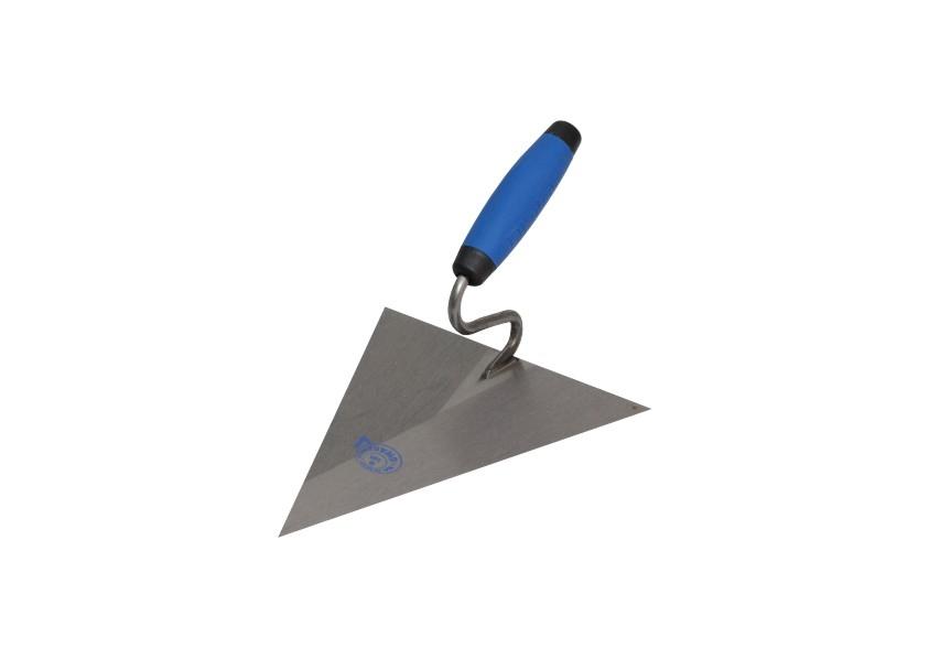 Maurerkelle, Stahl, spitze Dreieckform Kubala
