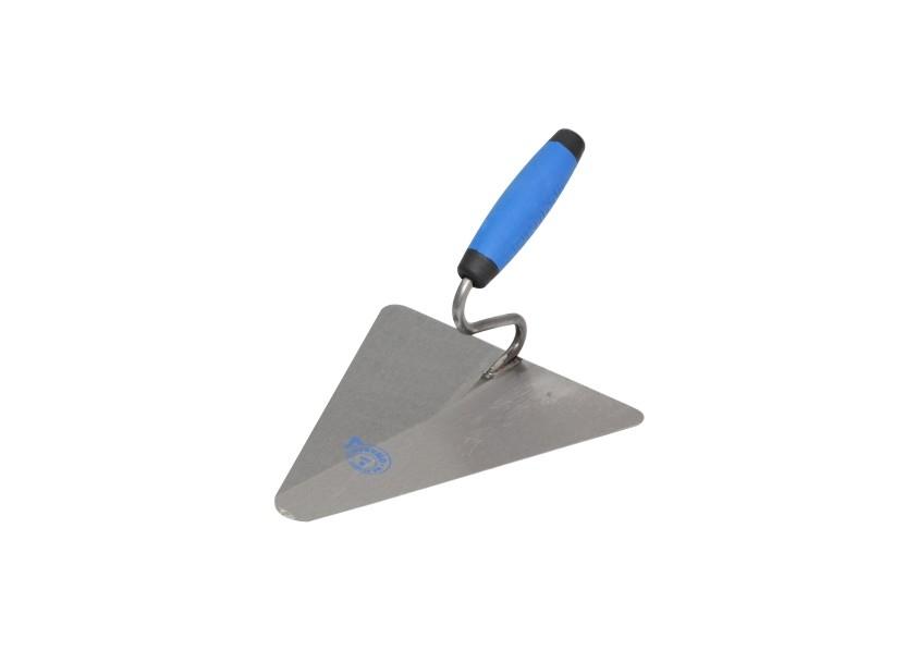 Maurerkelle, Stahl, Dreieckform Kubala 220 x 215 mm   |Artikel Nr. 0802